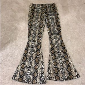 Pants - Snake skin pants